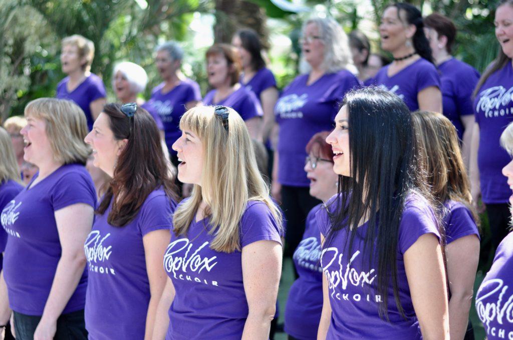 Popvox Choir girls singing